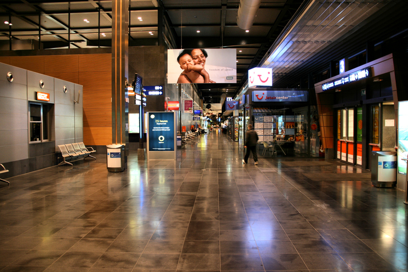 CRL Airport is located in Charleroi city, 46 km (29 mi) south of central Brussels.